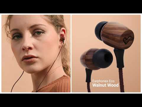 Energy Sistem - Auriculares Madera Earphones Eco Walnut wood