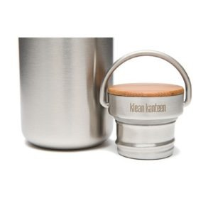 Botella Klean Kanteen 532ml 18oz Reflect cepillado tapón