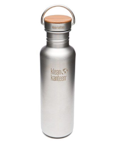 Botella Klean Kanteen 800ml 28oz Reflect cepillado