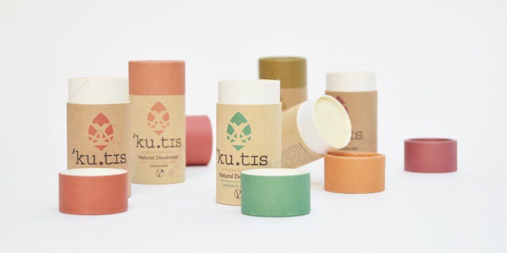 Desodorantes en barra Kutis biodegradables y ecológicos