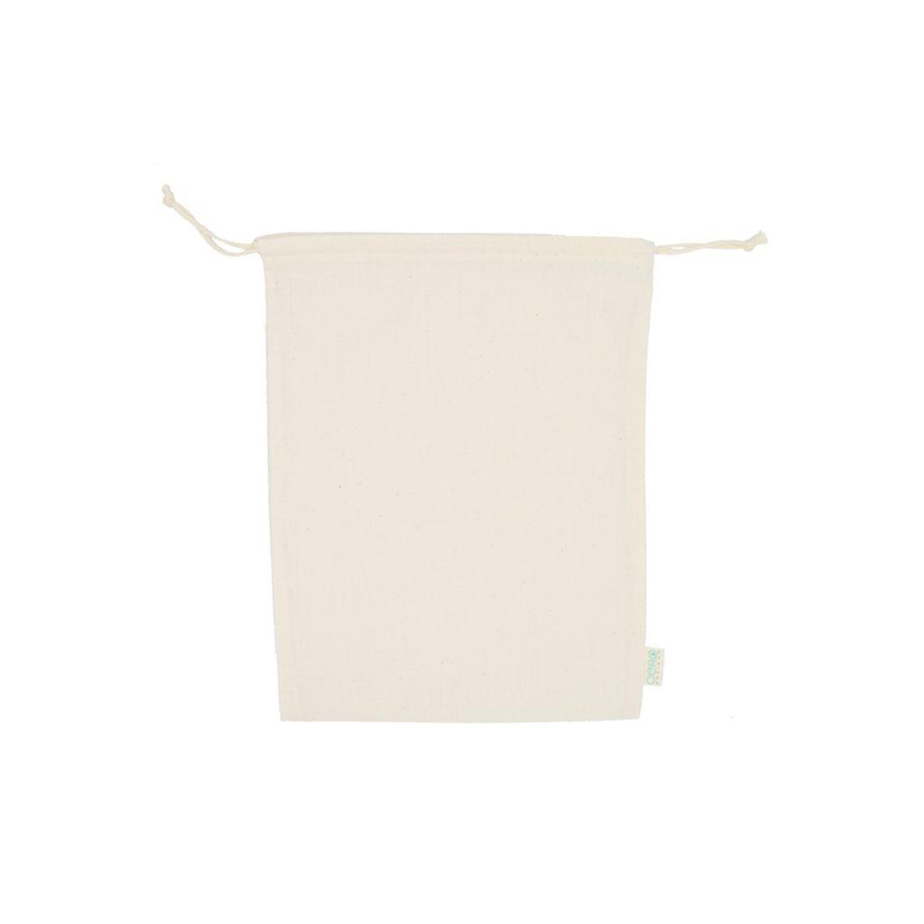 Bolsa de algodón pequeña de algodón ecológico