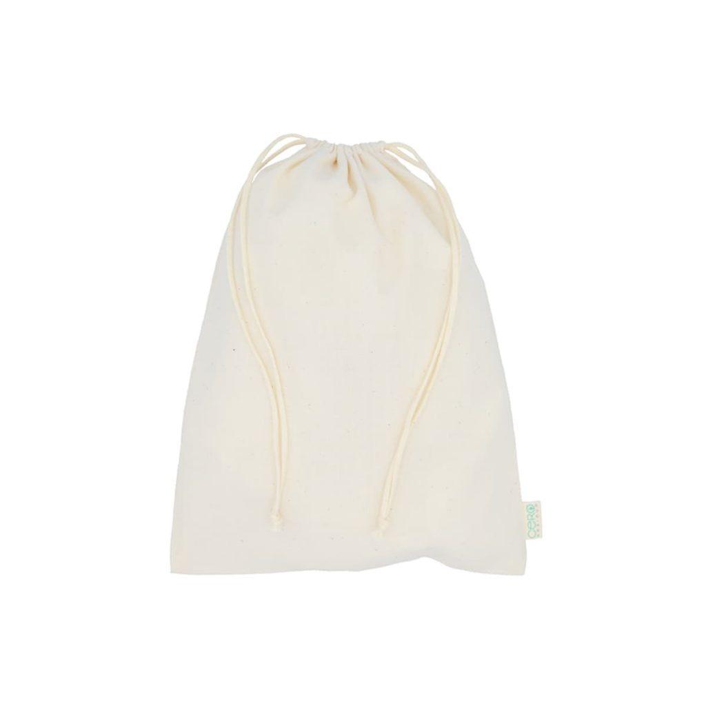 Bolsa de algodón mediana llena