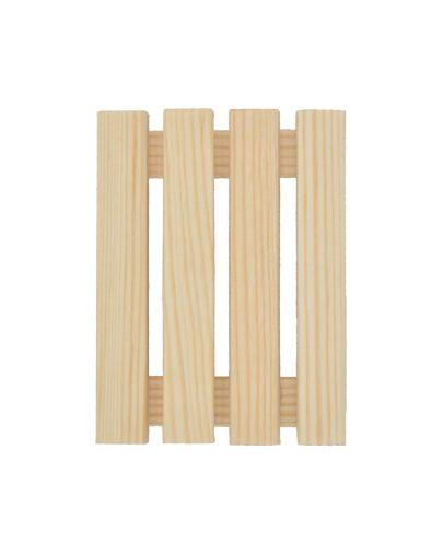 Jabonera de madera artesanal