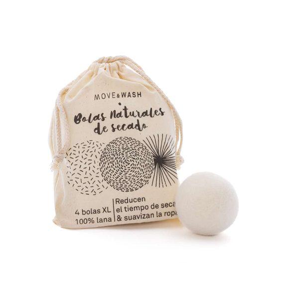 bolas de secado de lana