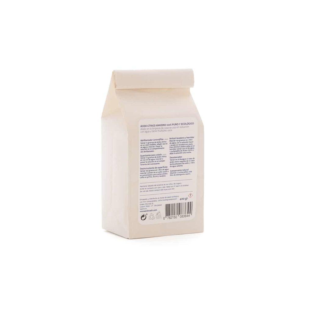ácido cítrico usos