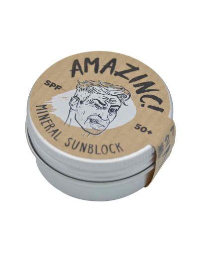 Protector solar facial SPF 50 blanco