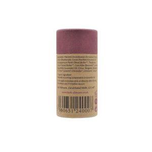 Desodorante natural en barra de lavanda y bergamota con bicarbonato
