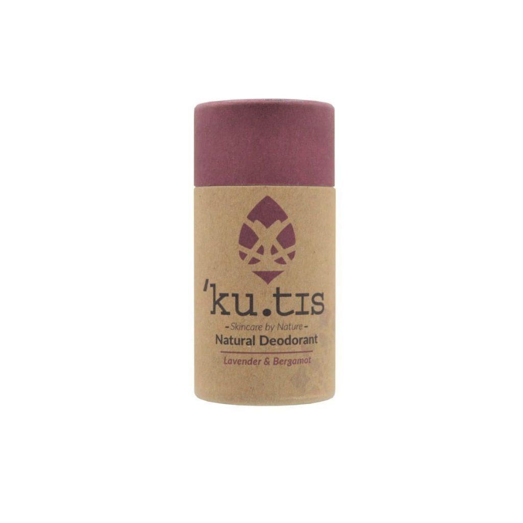 Desodorante en barra natural de lavanda y bergamota sin aluminio