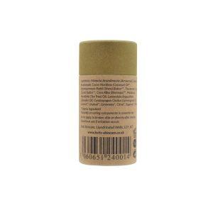 Desodorante natural en barra de lemongrass y árbol de té con bicarbonato