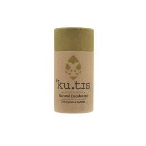 Desodorante en barra natural de lemongrass y árbol de té sin aluminio