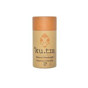 Desodorante en barra natural de uva y mandarina sin aluminio