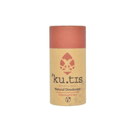 Desodorante vegano de cedro y rosa