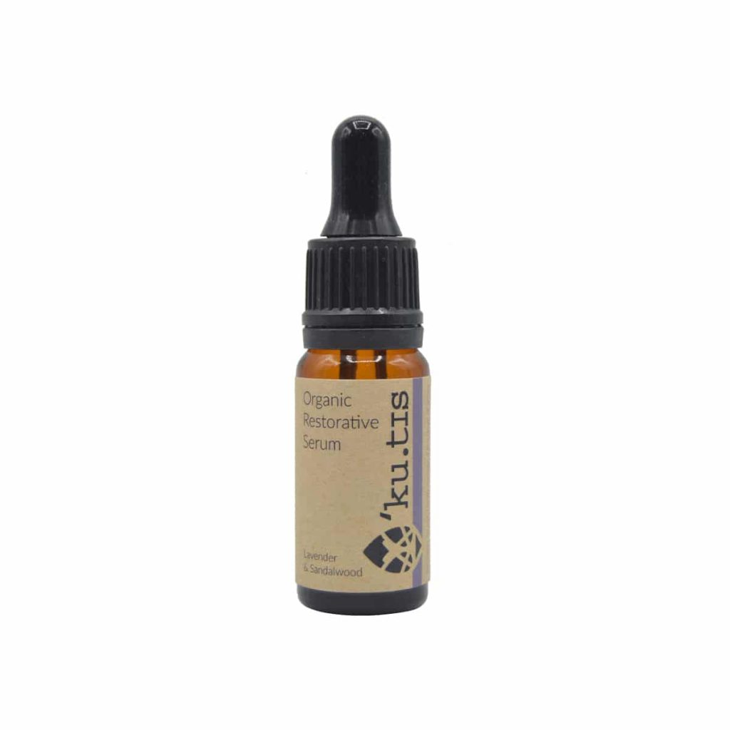 Sérum facial radiante de sándalo y lavanda 10 ml