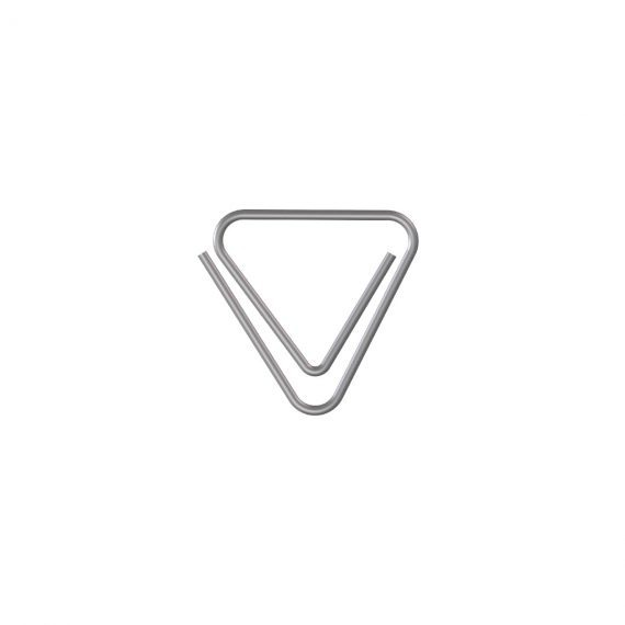 Clip triangular