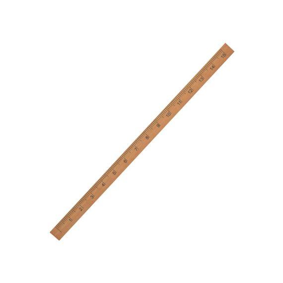 regla de madera cuadrada