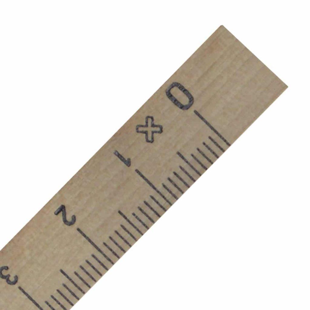 Regla cuadradillo de 30 cm