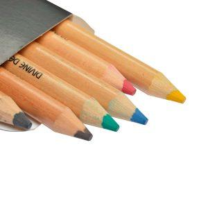 Lápices pequeños de colores