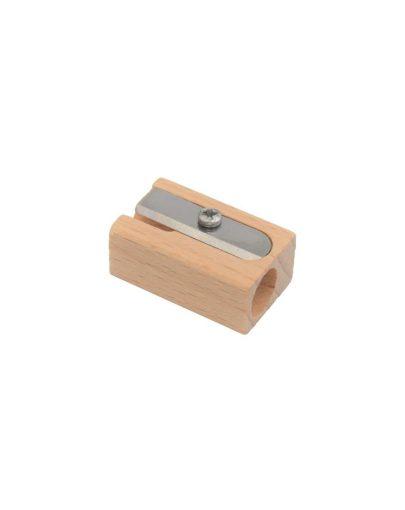Sacapuntas de madera pequeño