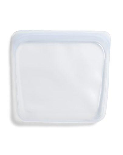 Bolsa de silicona platino hermética transparente mediana