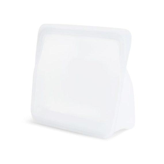 Bolsa de silicona vertical Stasher transparente
