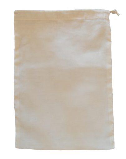 Bolsa de algodón orgánico L