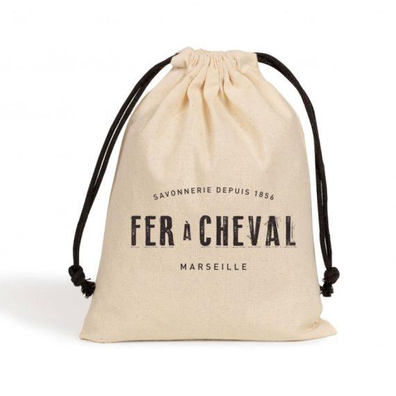 Jabón de Marsella en bolsa de yute en escamas 1 kg
