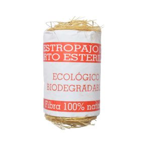 Estropajo de esparto con packaging