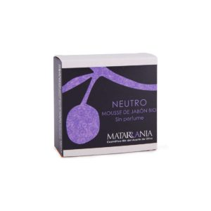 Mousse de jabón para piel sensible sin perfume ecológico