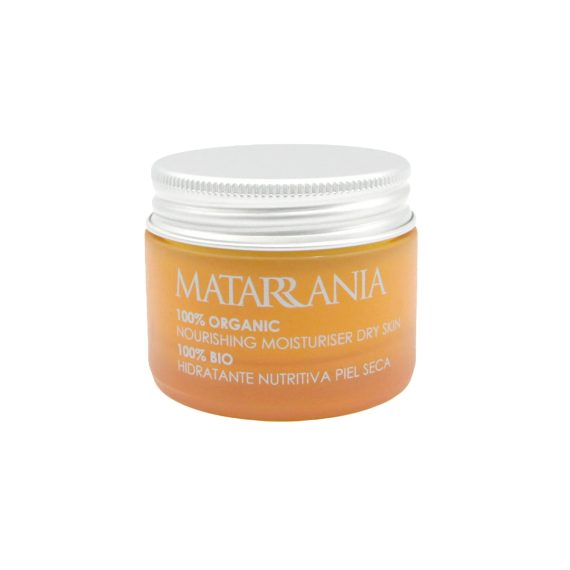 Crema hidratante facial piel seca ecológica