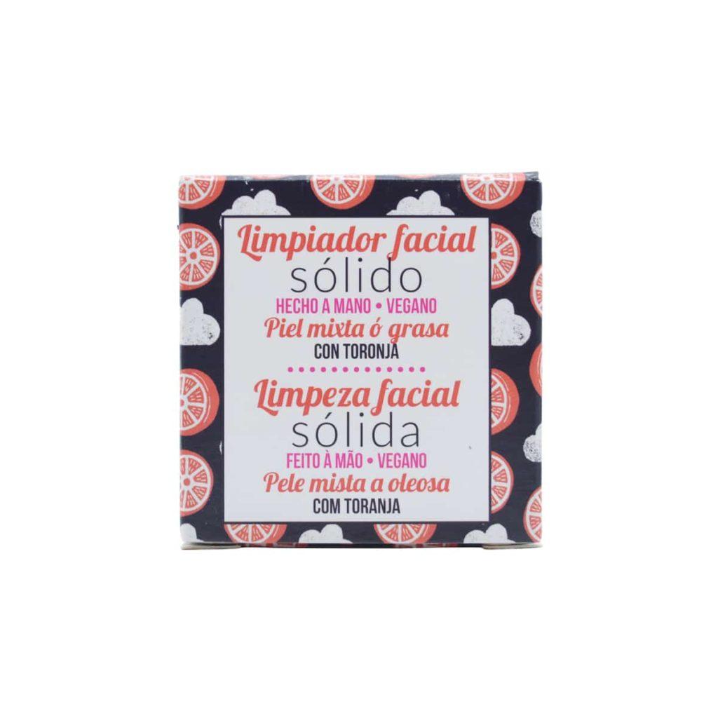 jabón facial sólido para pieles mixtas o grasas