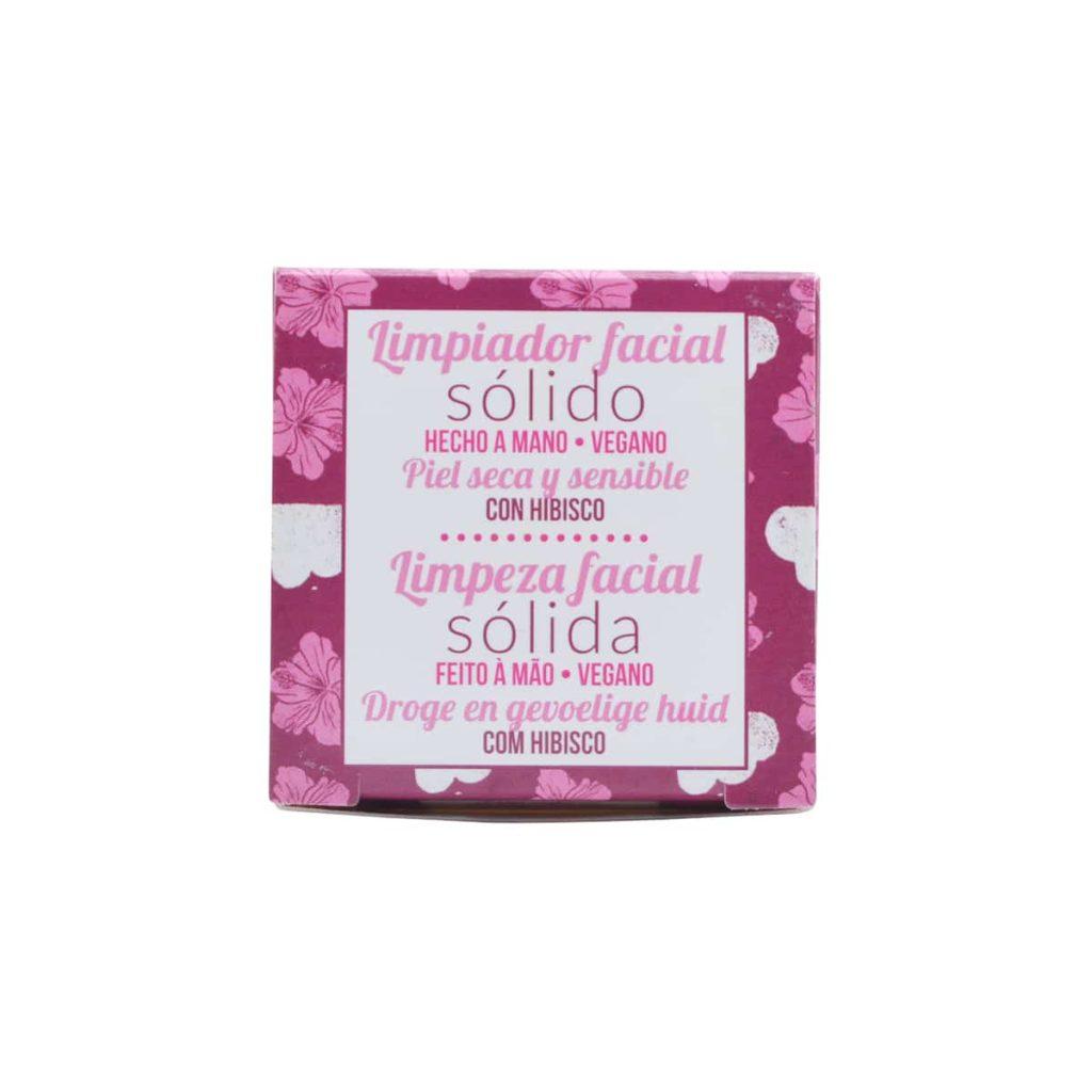 jabón sólido para el rostro