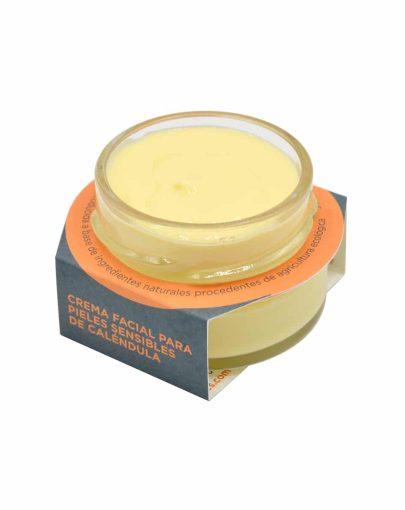 Crema facial para pieles sensibles