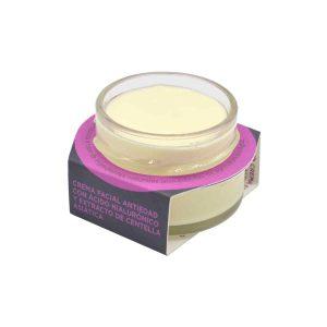 Crema antiedad antioxidante para el rostro