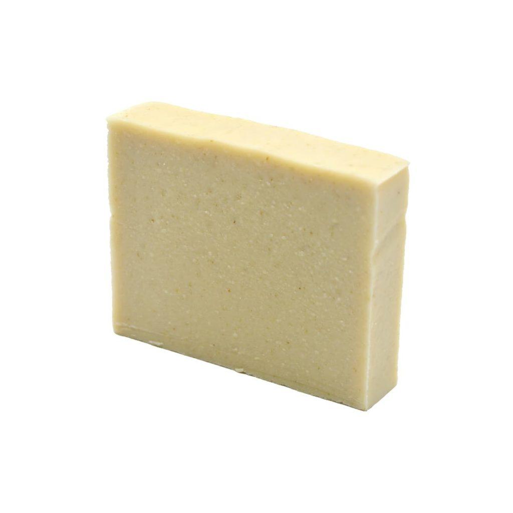 jabón sólido de avena