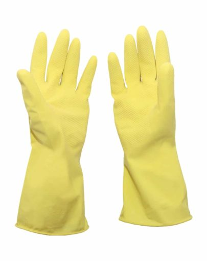 Guantes de látex natural