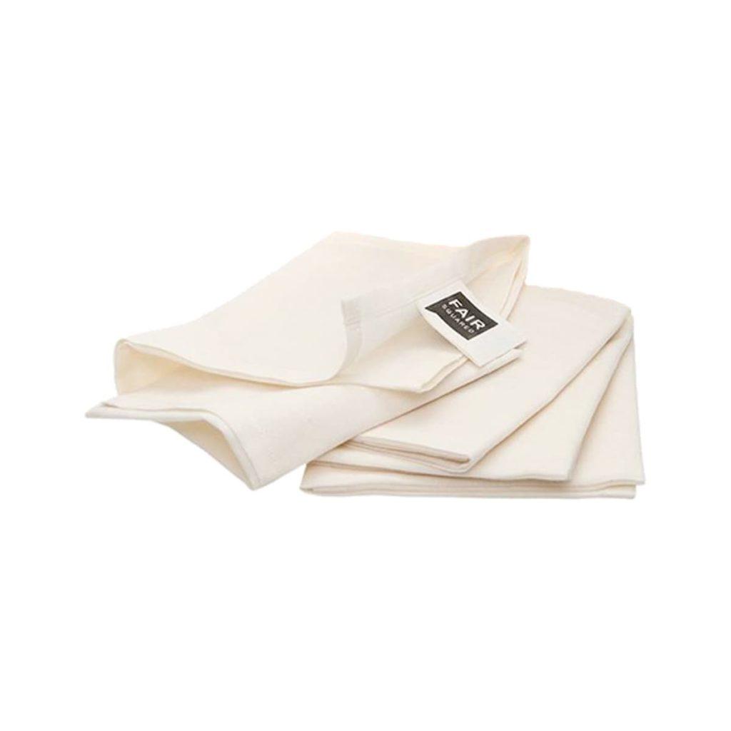 Pañuelo de tela de algodón orgánico