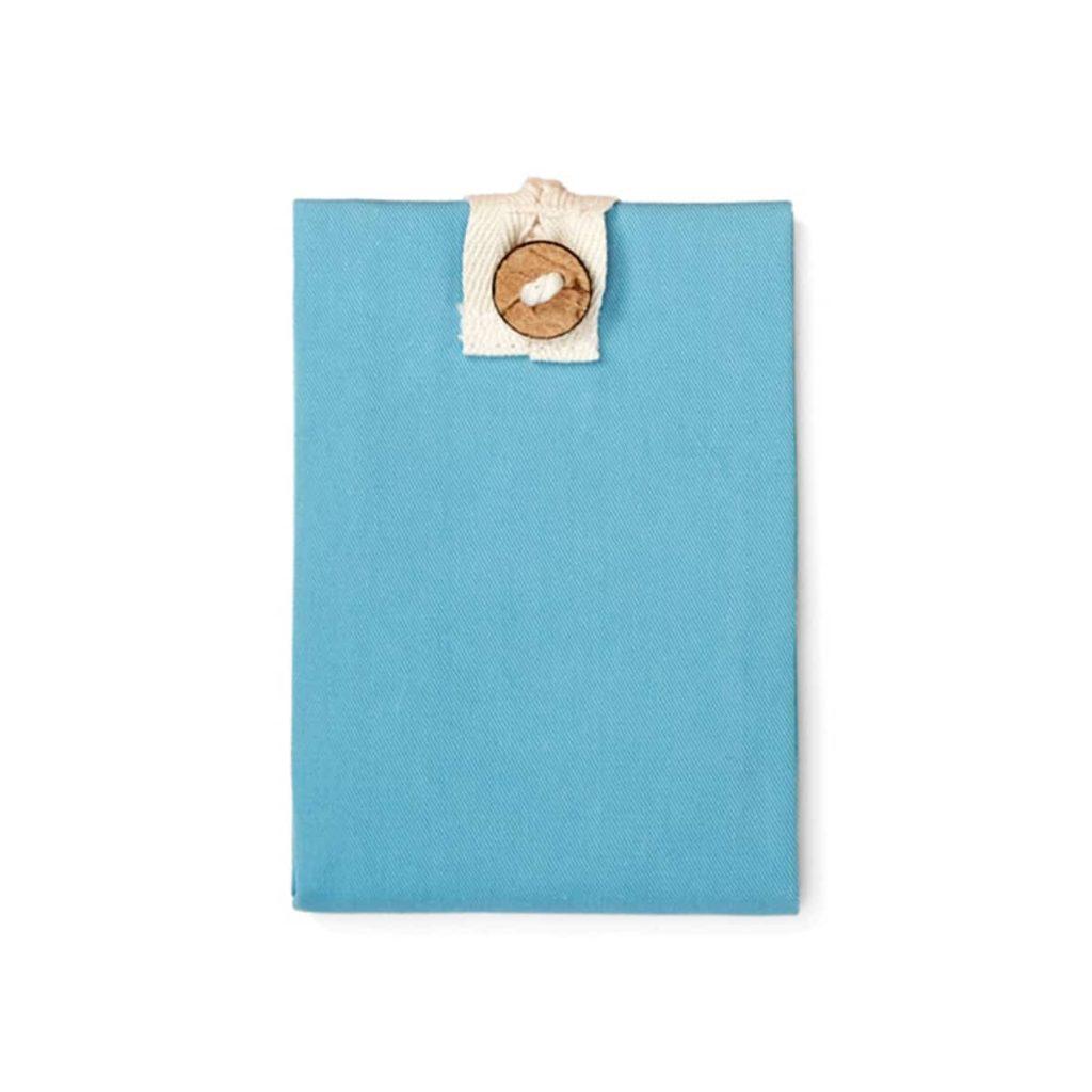 Boc and Roll para bocadillos reutilizable sin plástico Azul