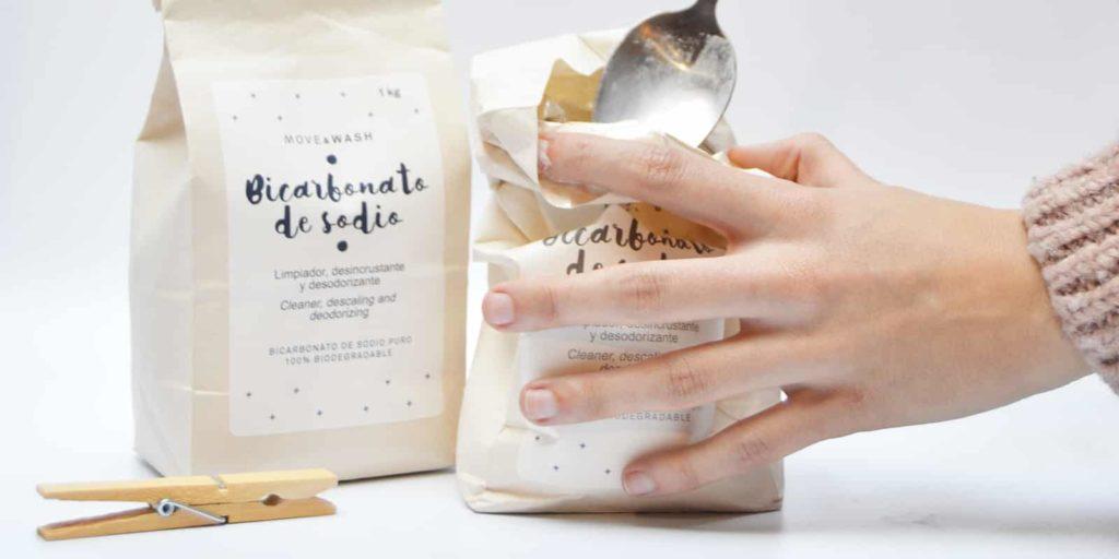Bicarbonato de sodio blanqueante lavavajillas