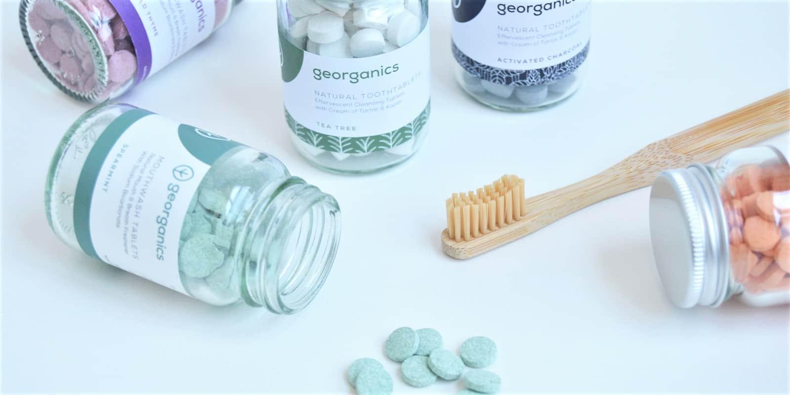 Dentífrico y colutorios en pastillas